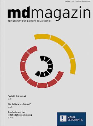 MD magazin Zeitschrift für direkte Demokratie