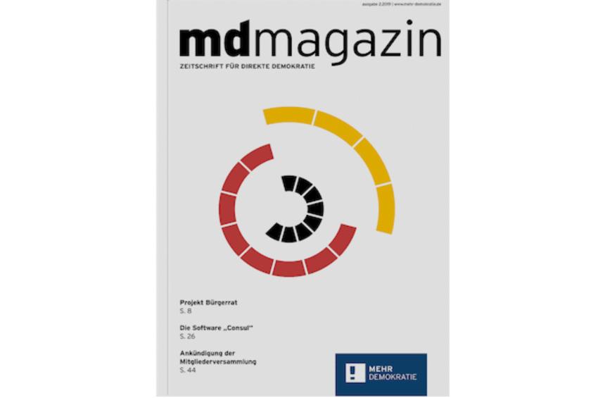 Mehr Demokratie Magazin 2/2019